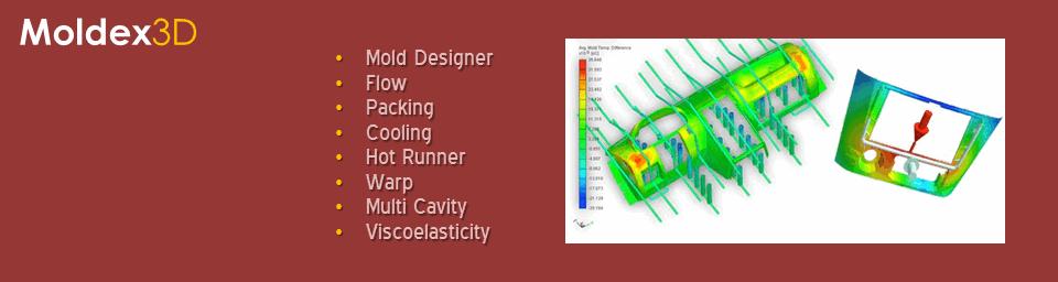 NESTech-Molex3D: Plastic Injection Molding Simulation